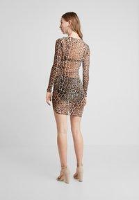 Tiger Mist - AARYA DRESS - Shift dress - brown - 2