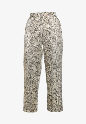 CURUSLA PANTS - Trousers - gold metallic