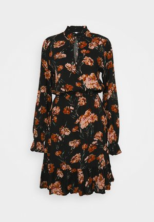 ONLCLORIS TALL  - Day dress - black/ flower