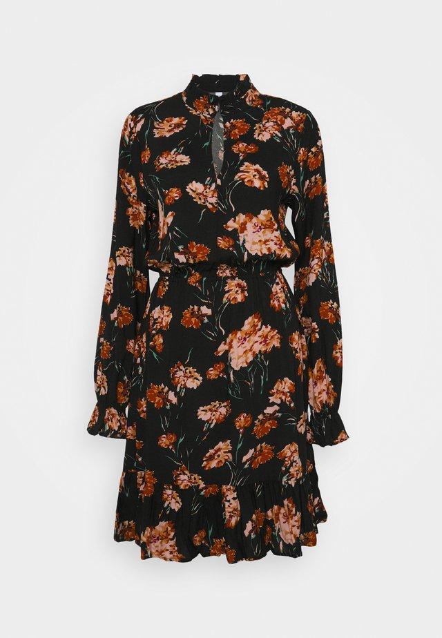 ONLCLORIS TALL  - Day dress - black/ flower