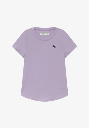 CURVED - T-shirt basic - purple