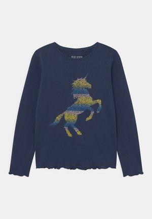 KIDS GIRLS - Long sleeved top - dark blue