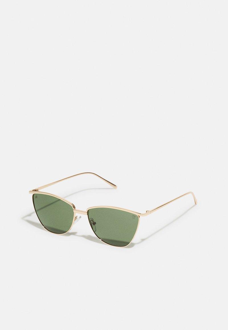 CHPO - BOULALA UNISEX - Sunglasses - gold/green