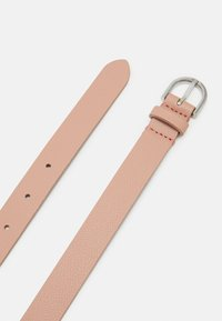 Calvin Klein - ROUND BUCKLE BELT CHARMS - Pásek - pink - 1