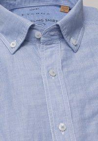 Eterna - SLIM FIT - Shirt - hellblau/weiß - 4