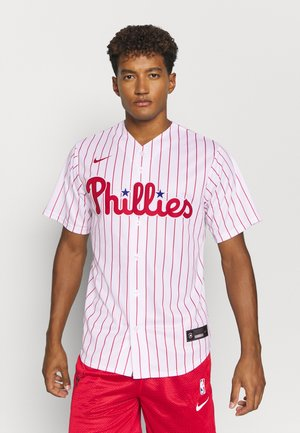 MLB PHILADELPHIA PHILLIES OFFICIAL REPLICA HOME - Club wear - white/scarlet
