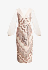 Three Floor - WRAP IT DRESS - Cocktail dress / Party dress - dusty pink/faded rose - 3