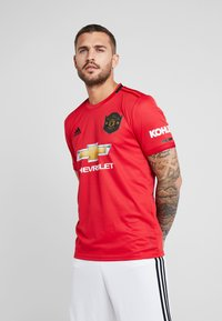 adidas Performance - MANCHESTER UNITED - Club wear - real red - 0