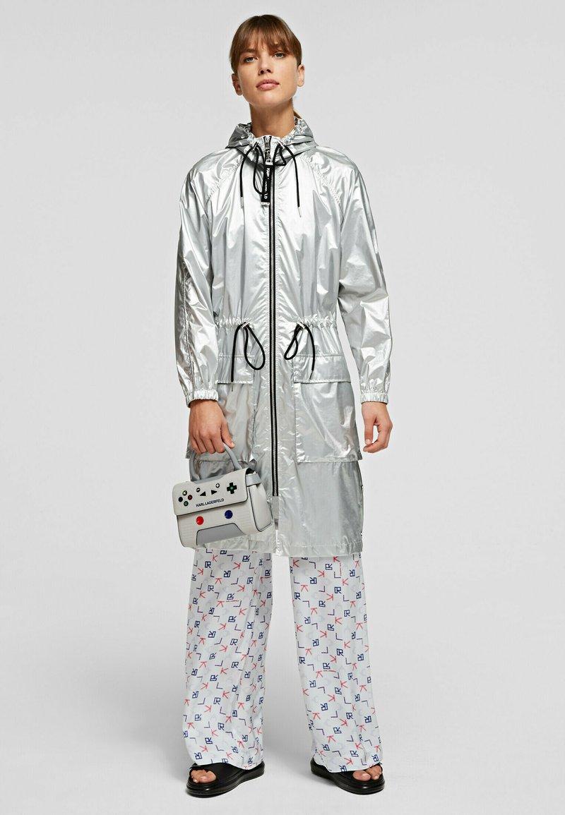 KARL LAGERFELD - Waterproof jacket - silver