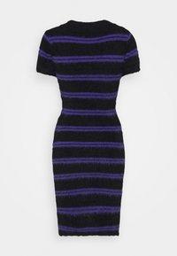 The Ragged Priest - NERVE DRESS - Strikket kjole - black/purple - 1