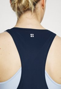 Sweaty Betty - ACE MIDI SMOCK DRESS - Sports dress - navy blue - 4