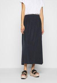 Marc O'Polo DENIM - SKIRT LONG - Maxi skirt - scandinavian blue - 0
