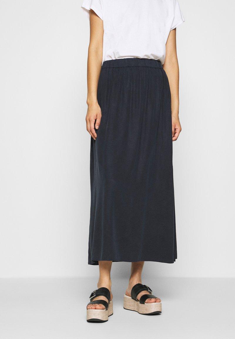 Marc O'Polo DENIM - SKIRT LONG - Maxi skirt - scandinavian blue