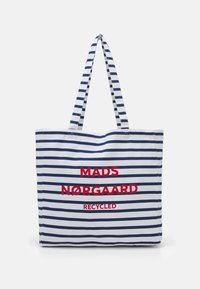 Mads Nørgaard - PRINT BOUTIQUE ATHENE - Shoppingväska - off white/navy - 0