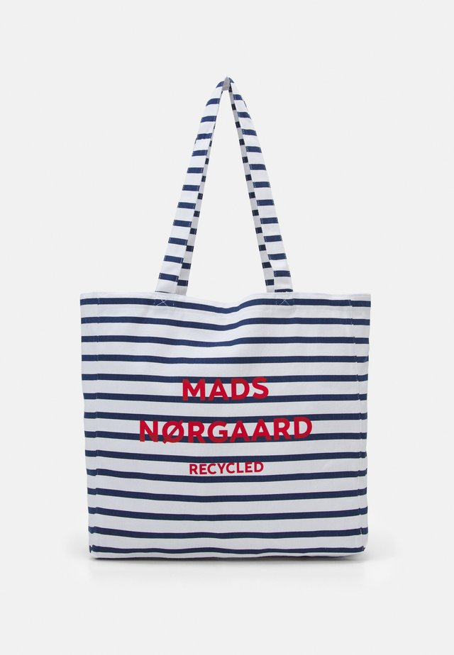 BOUTIQUE ATHENE - Shopping Bag - off white/navy