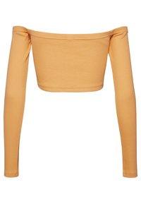 Reebok Classic - CROP - Long sleeved top - sunbaked orange - 1