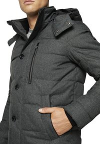 TOM TAILOR - Winterjas - mid grey structure - 6