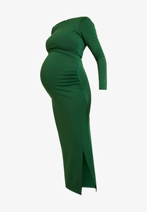 OPEN BACK SPLIT MIDAXI - Vestido largo - jade