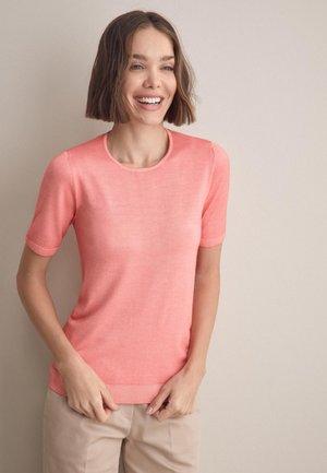 Basic T-shirt - rosa -  bubble