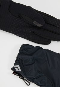 Black Diamond - WIND HOOD GRIDTECH GLOVES - Gloves - black - 7