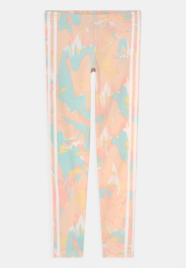 Leggings - Trousers - pink tint/multicolor
