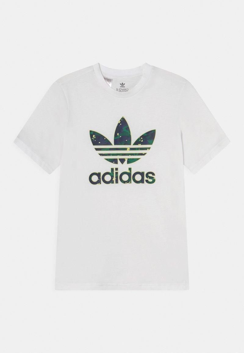 adidas Originals - TEE UNISEX - T-shirt print - white