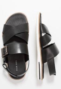 Pier One - Sandals - black - 1