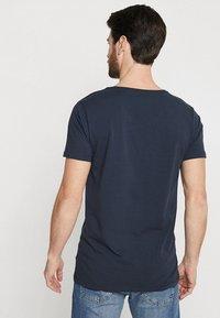 Petrol Industries - 2 PACK - Basic T-shirt - deep navy - 2