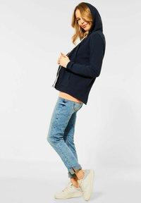 Cecil - OTTOMAN - Zip-up sweatshirt - dark blue - 2