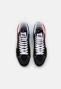 Vans - SK8-HI UNISEX - Sneakers hoog - racing red/true blue - 3