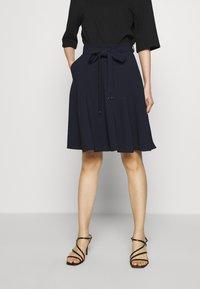 HUGO - ROMELLI - A-line skirt - open blue - 0