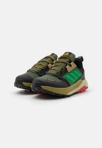 adidas Performance - TERREX TRAILMAKER R.RDY UNISEX - Hiking shoes - wild pine/vivid green/vivid red - 1