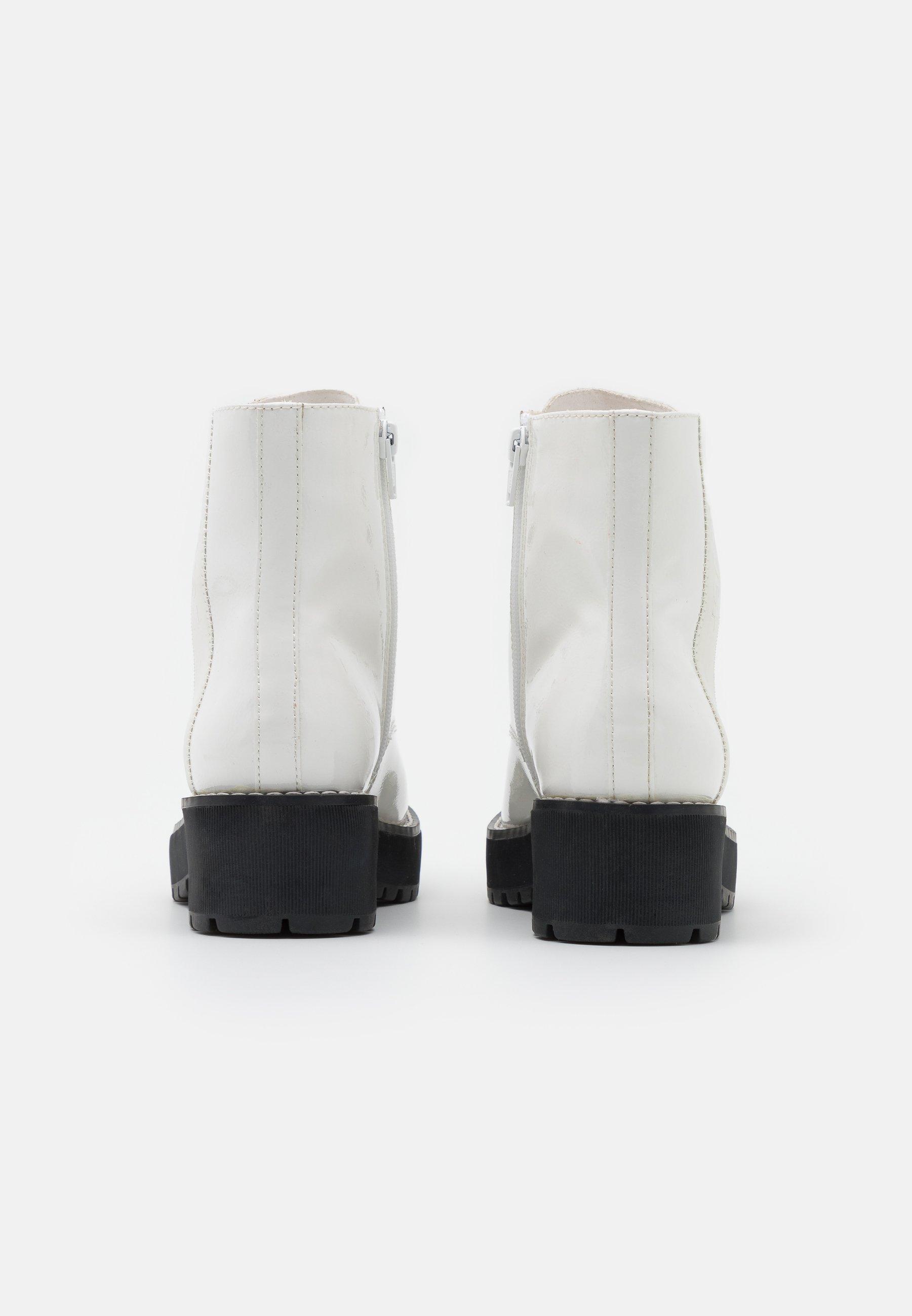 S.oliver Botki Na Platformie - White