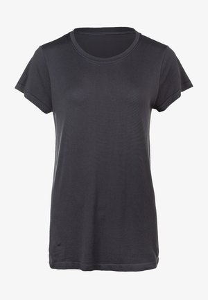 Basic T-shirt - mottled black