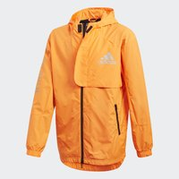 adidas Performance - Training jacket - app signal orange/black/silver met. - 5