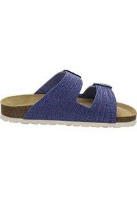 AFS Schuhe - ZWEISCHNALLER - Slippers - jeans - 4