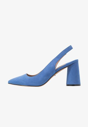 ONLPIXIE HEELED SLINGBACK  - Zapatos altos - royal blue