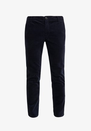 COMO CASUAL - Trousers - navy