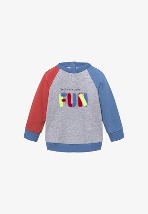 MIT ARTWORK - Sweatshirt - chalky azure|blue