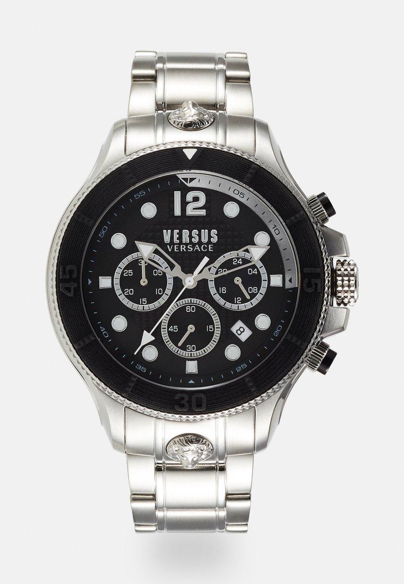 Versus Versace - VOLTA - Hodinky se stopkami - silver-coloured/black
