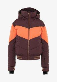 Roxy - SUMMIT  - Snowboard jacket - grape wine - 6