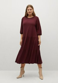 Violeta by Mango - Day dress - granatrot - 1