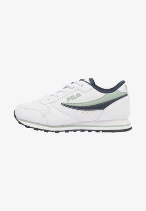 Sneakers laag - snow white/fila navy