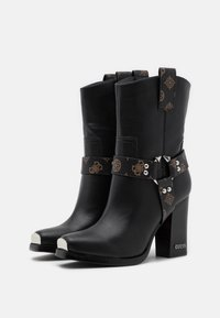 Guess - FLAVIA - High heeled ankle boots - brown/ocra - 2