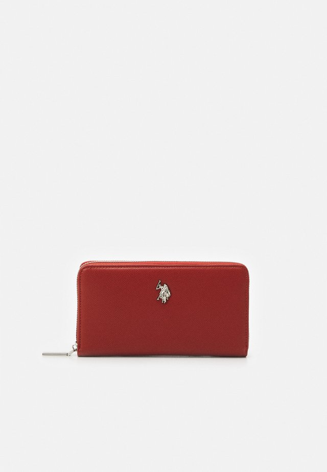 JONES L ZIP ARD WALLET  - Lommebok - rust