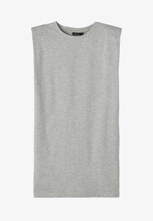 Jerseyjurk - light grey melange