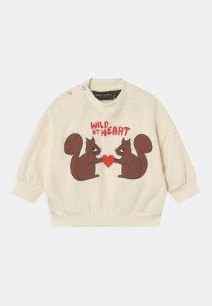 WILD AT HEART UNISEX - Sweatshirt - white