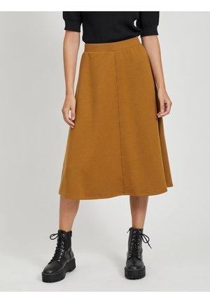A-line skirt - tapenade