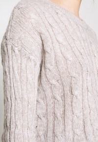 New Look - BASIC - Jersey de punto - light grey - 5