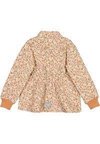 Wheat - THILDE - Winter jacket - alabaster flowers - 1